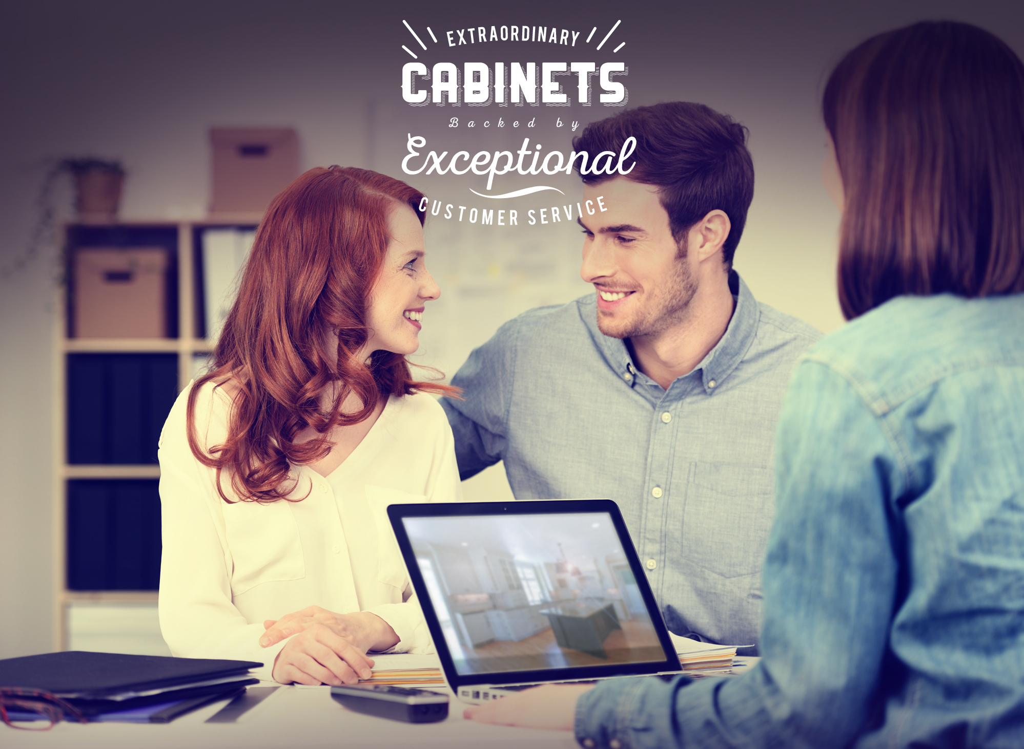 Extraordinary Cabinets Backed by Exceptional Customer Service